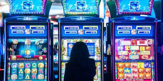Girl Playing Slots