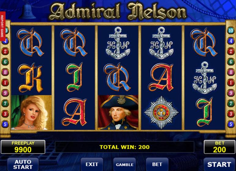 Admiral NelsonSlots Online