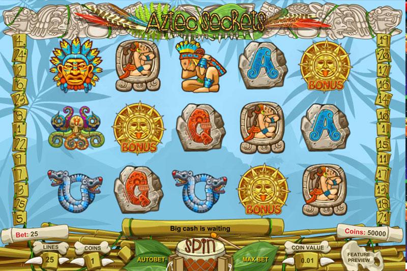 Aztec Secrets Online Casino