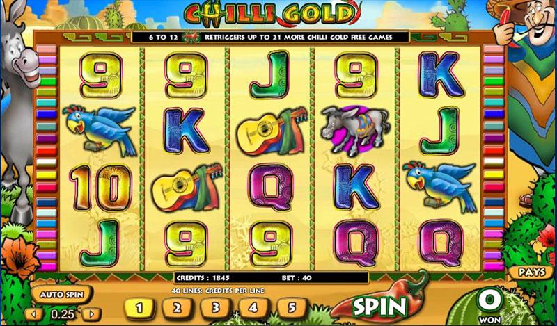 Chilli Gold Game Online Casino Slots