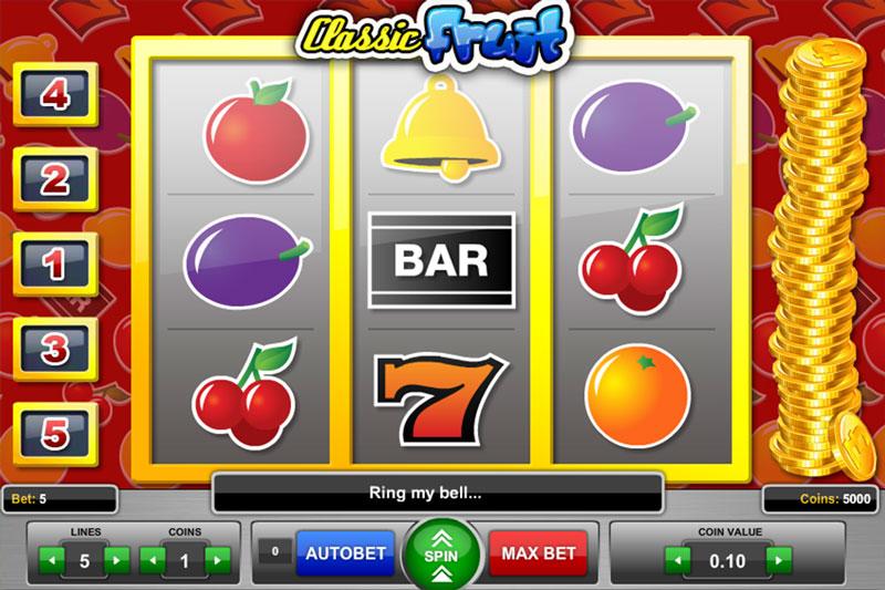 Classic Fruit Slots Online