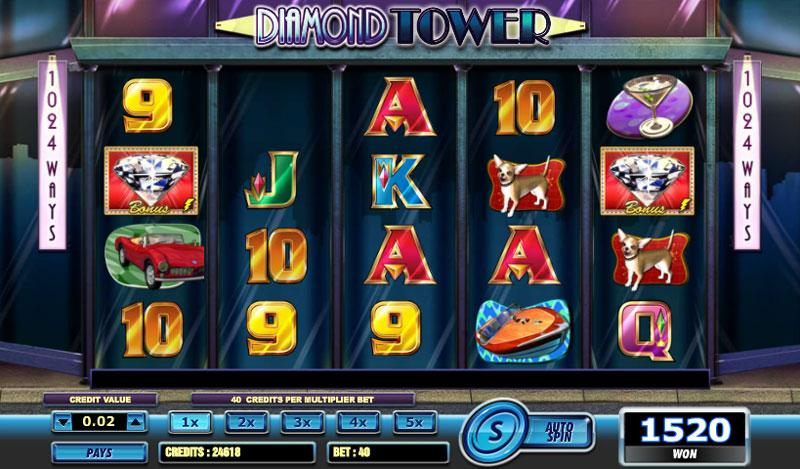 Diamond Tower Game Slots Online