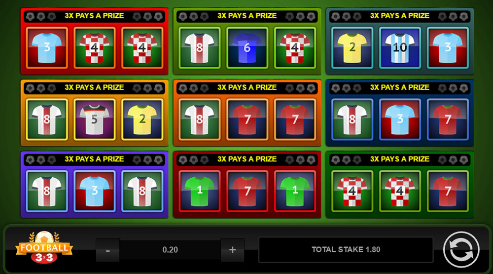 Football-3x3 Online Slots