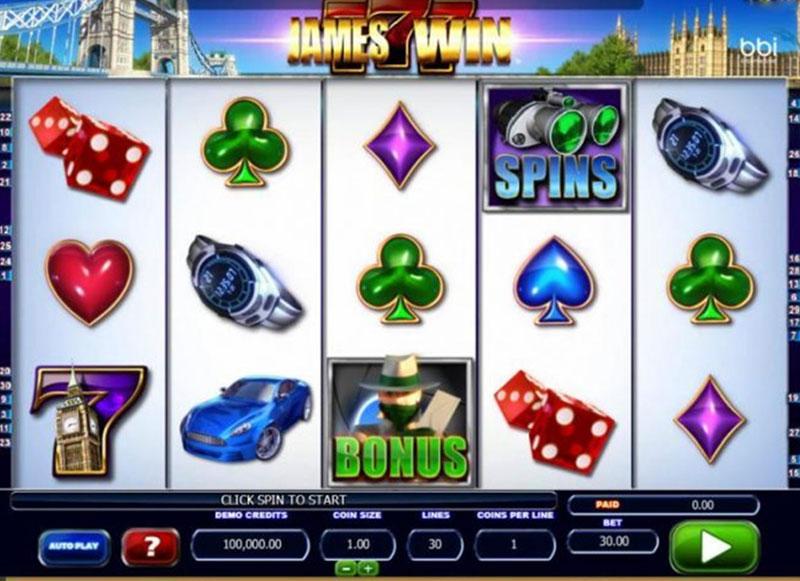 James-Win Online Slots