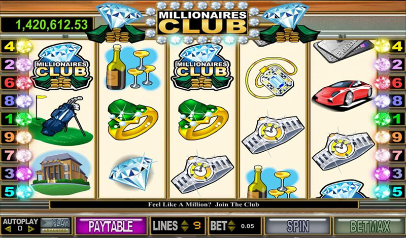 Millionaires-Club Slots Online