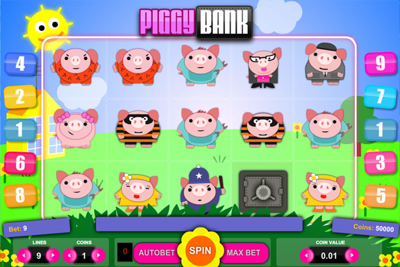 Piggy-Bank Slots Online