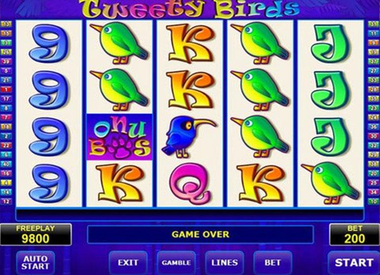Tweety-Birds Slots Online